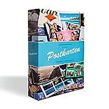 Leuchtturm 342620 Sammel-Album POSTKARTEN für 200 Postkarten, Postkarten-Sammel-Album mit 50 festeingebundenen Hüllen
