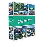 Leuchtturm 347770 Sammel-Album - Postkarten-Album für 200 Postkarten - 50 festeingebundene Hüllen