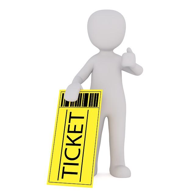 Ticket Verkauf Handel